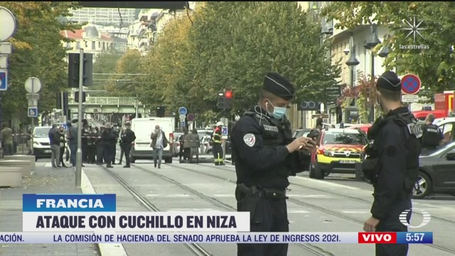 ataque con cuchillo cerca de iglesia en niza francia deja 3 muertos