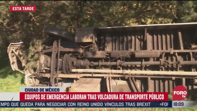 autobus accidentado en la mexico cuernavaca se habria quedado sin frenos