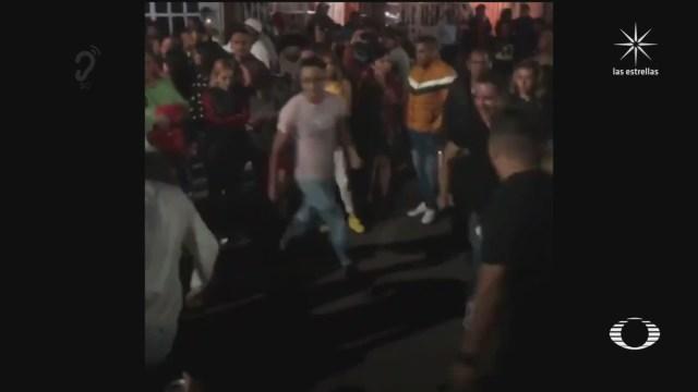 autoridades permiten baile sonidero en san juan de aragon cdmx