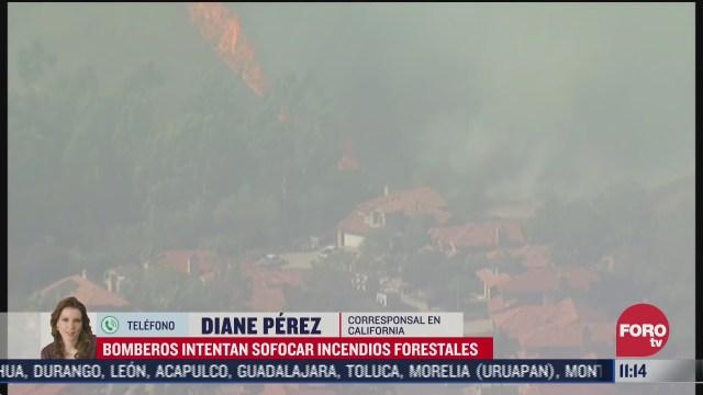 california se mantiene en alerta por incendios