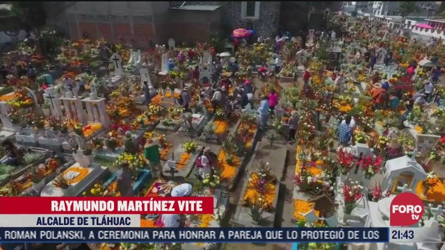 cancelan festejos masivos por dia de muertos en mixquic