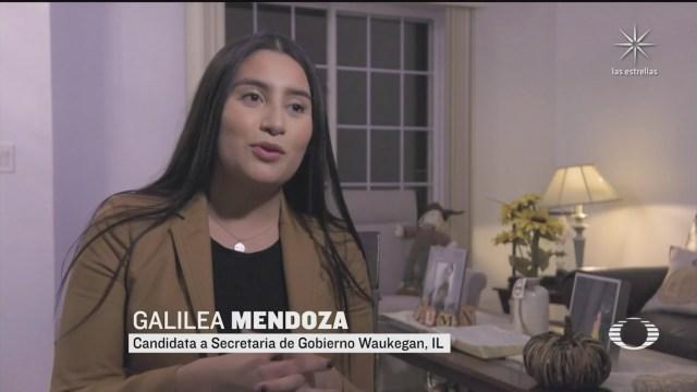 candidata de origen mexicano compite por puesto de eleccion popular en illinois