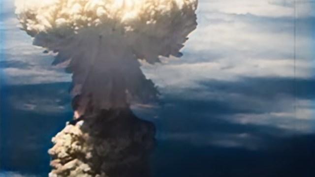 Recobran video a color de bombardeos de Hiroshima y Nagazaki