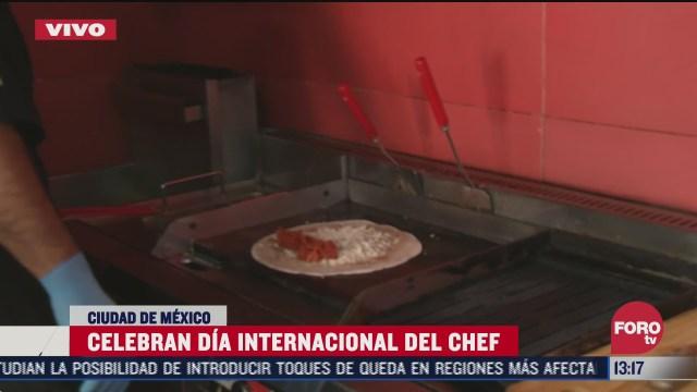 celebran dia internacional del chef