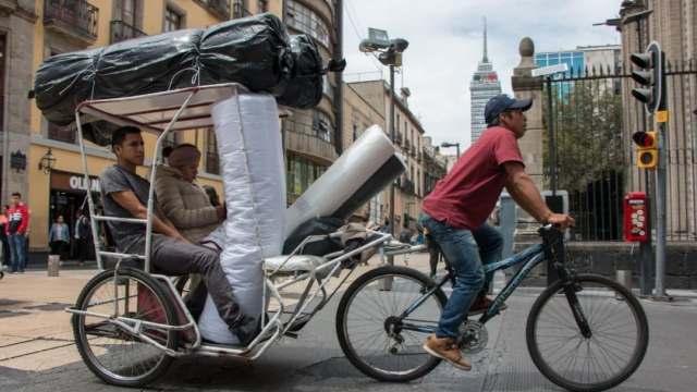 Censan a Bicitaxis, Mototaxis y Golfitaxis en la CDMX