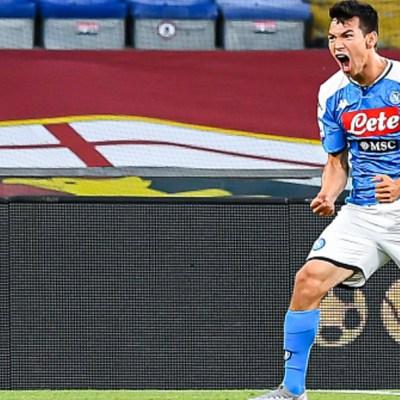 Partido del Nápoles de Chucky Lozano vs Juventus, en duda por COVID