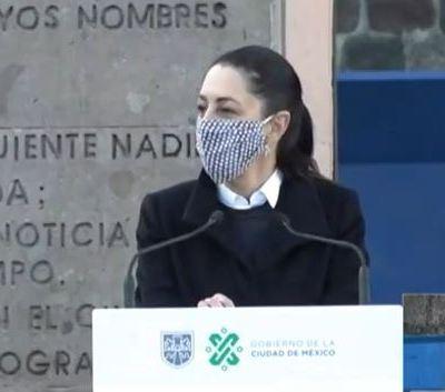 Sheinbaum conmemora 52 aniversario de la masacre del 2 de octubre en Tlatelolco