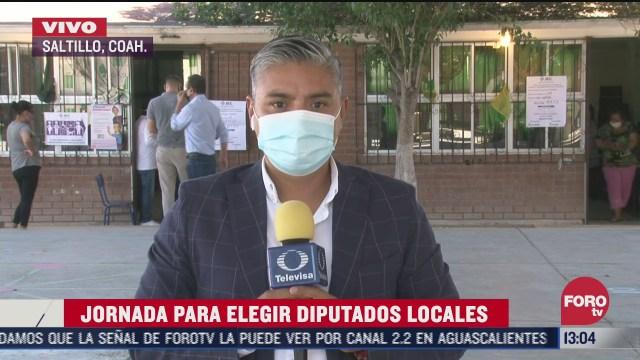 coahuila reporta 99 84 de casillas abiertas