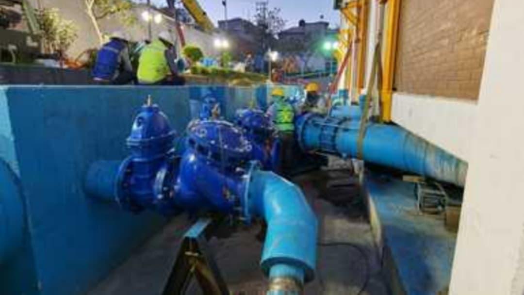 Conagua reanuda abasto de agua en Iztapalapa y dos municipios mexiquenses