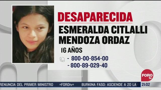continua la busqueda de esmeralda en el estado de mexico