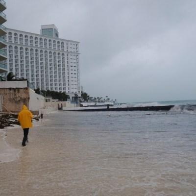 Lluvias torrenciales por 'Delta' seguirán en Quintana Roo y Yucatán