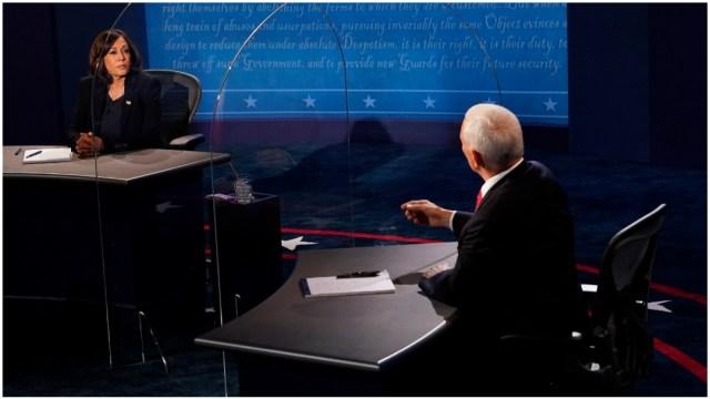 Mike Pence y Kamala Harris