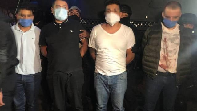 Los 14 detenidos en Xochimilco acusados de extorsionar al transporte público fueron trasladados al Reclusorio Oriente