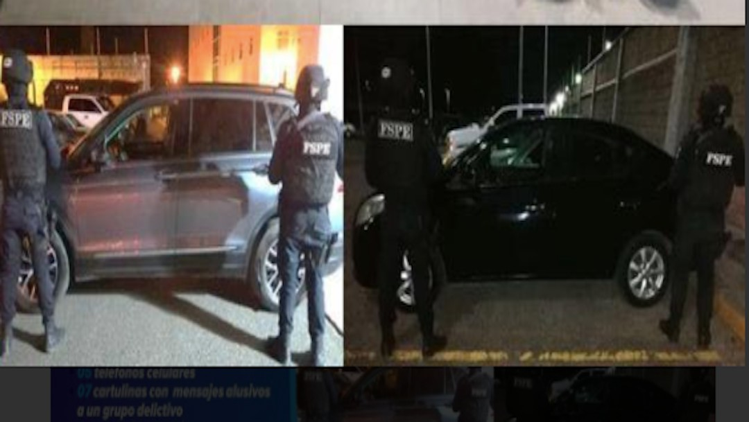 They arrest 7 members of the CJNG in Celaya, Guanajuato and secure arsenal.