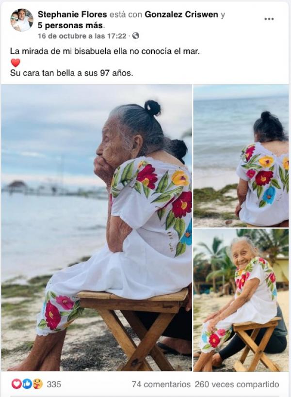 doña manuelita abuelita 97 años conoce el ma