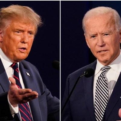 Biden aventaja por 12 puntos a Trump en intención de voto, según sondeo