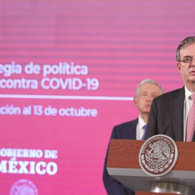El canciller Marcelo Ebrard adelantó que México pedirá al G20 cooperación internacional para sortear la crisis económica mundial por el COVID-19