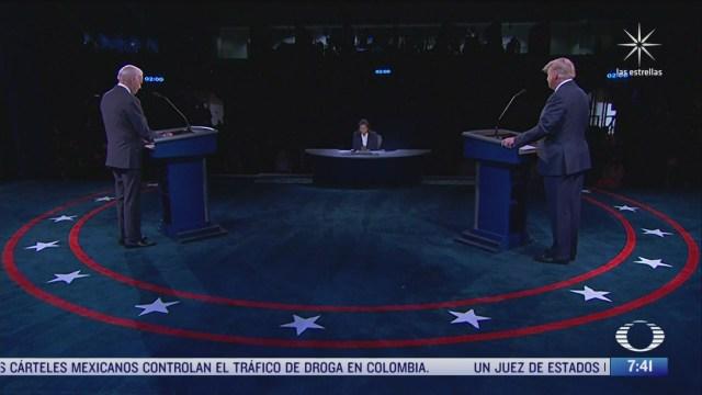 el segundo y ultimo debate entre trump y biden