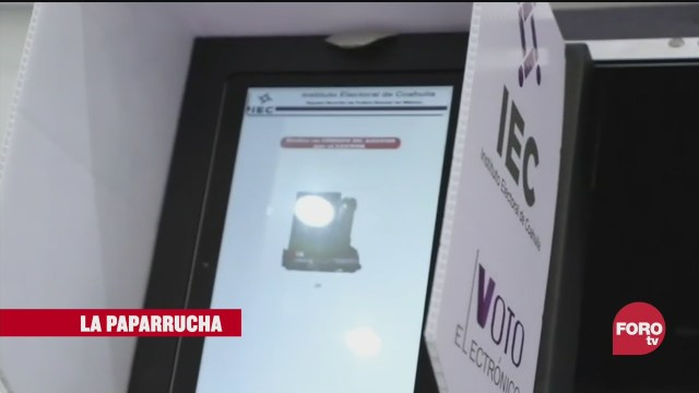 Elecciones en Hidalgo y Coahuila, estrenarán el voto electrónico, la paparrucha del día El análisis en Punto y Contrapunto