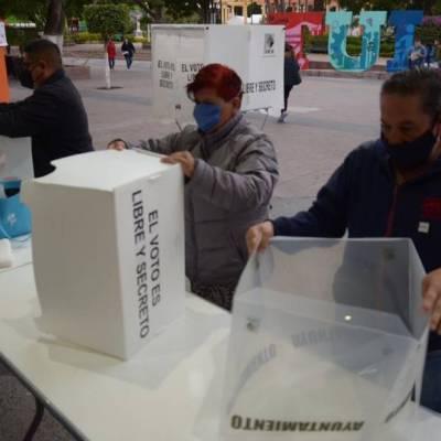 Elecciones en Hidalgo transcurren con tranquilidad y apego al protocolo sanitario