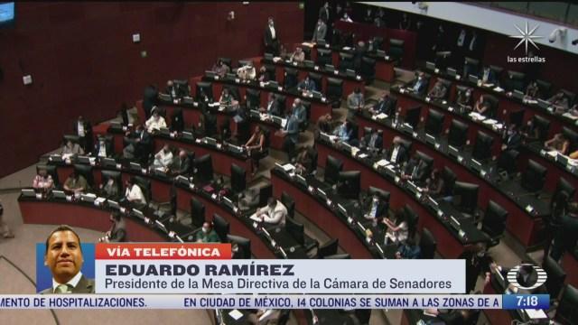 entrevista con el senador eduardo ramirez para despierta