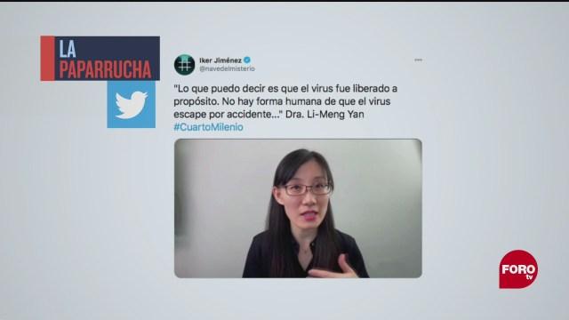 Epidemióloga china asegura que su país creó la COVID-19 en laboratorio, la paparrucha del día