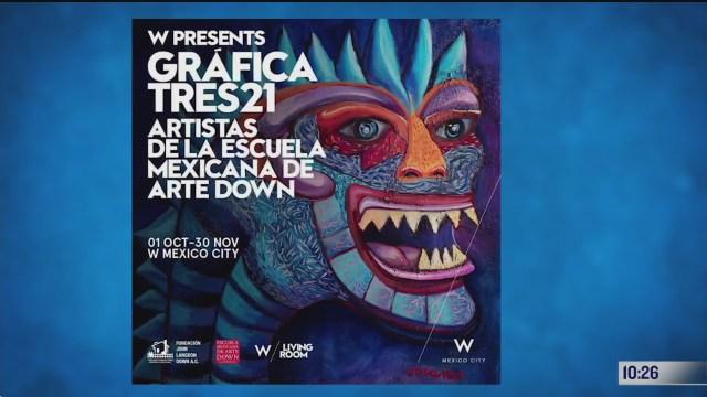 exposicion de la escuela mexicana de arte down