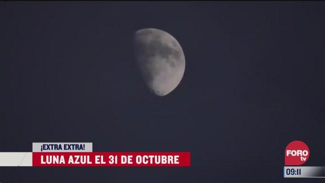 extra extra luna azul el 31 de octubre