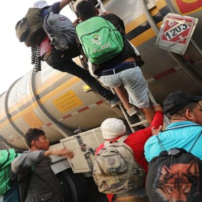 Amenaza de cárcel en México debilita nueva caravana de migrantes centroamericanos