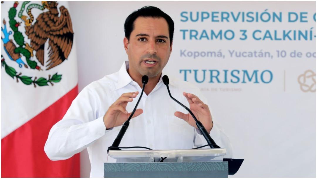 Mauricio Vila, gobernador de Yucatán, da positivo a COVID-19