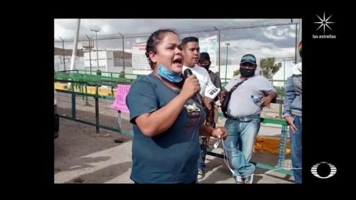 guardia nacional detienen una integrante de colectivo por toma de caseta