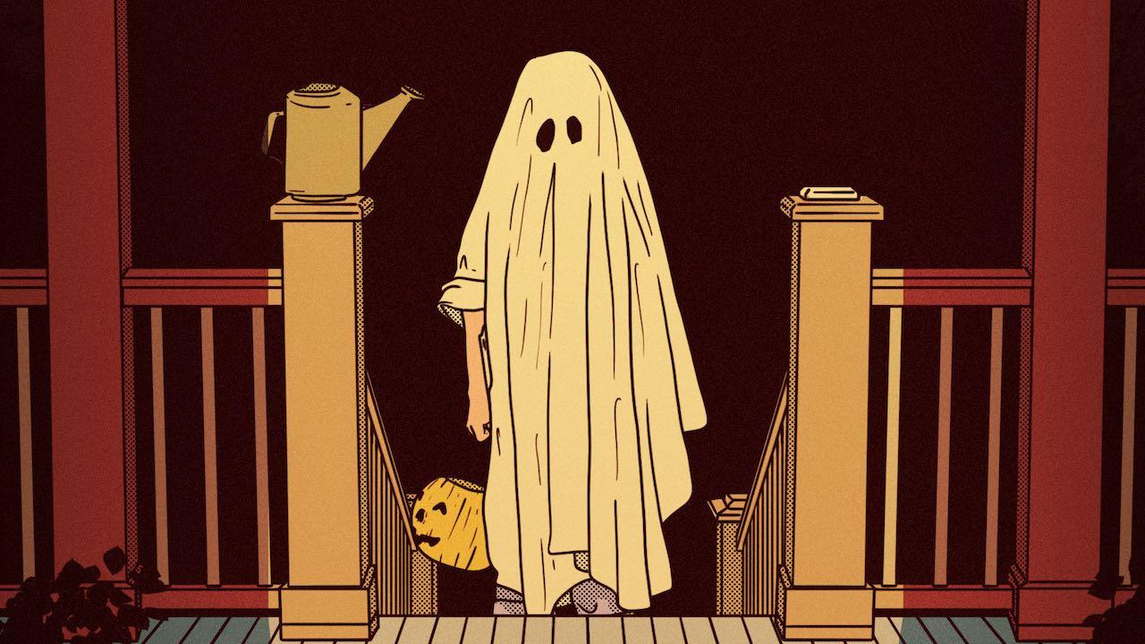 Halloween Disfraces Costumbres Tradición Imagen