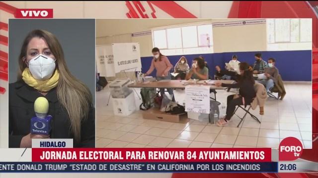 hidalgo sin resultados a tres horas de las elecciones