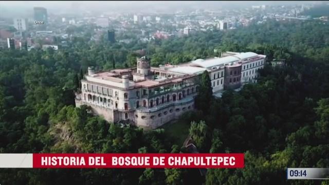 historia del bosque de chapultepec