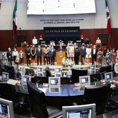Senadores homenajean a Joel Molina, legislador que murió por COVID-19