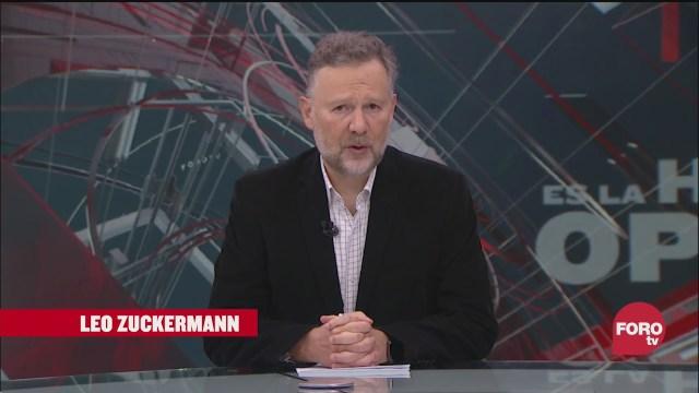 Es La Hora Opinar con Leo Zuckermann Fortov Programa Completo 8 Octubre 2020