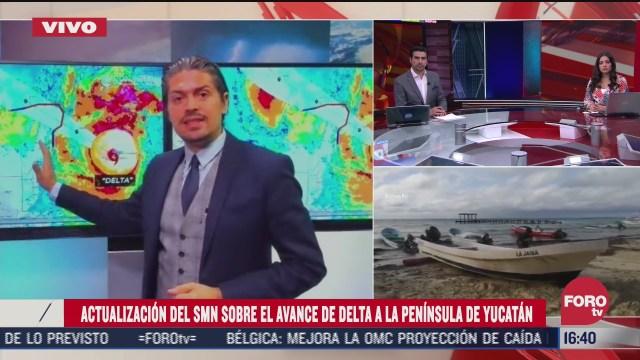 huracan delta altamente peligroso y podria intensificarse smn