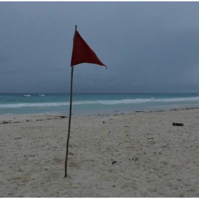Desalojan Holbox y Punta Allen en su totalidad por cercanía del huracán 'Delta'