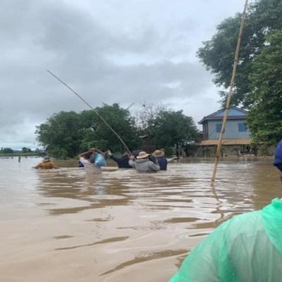 Inundaciones en Camboya deja al menos 11 muertos