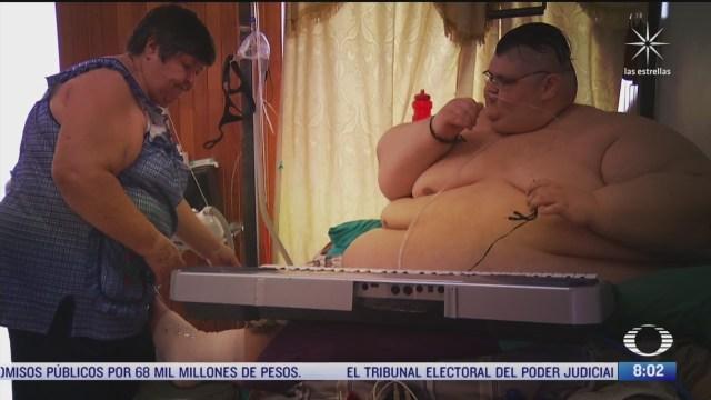 juan pedro el hombre mas obeso del mundo vence al covid