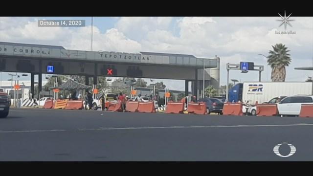 Bloqueos carreteros en autopistas de Cuernavaca y Morelos