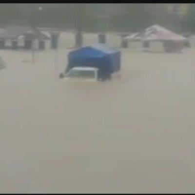 Lluvias continúan causando afectaciones en Tabasco y Chiapas