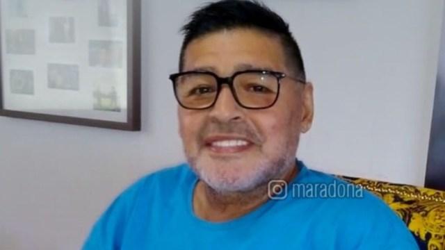 Maradona da negativo a la prueba de COVID-19