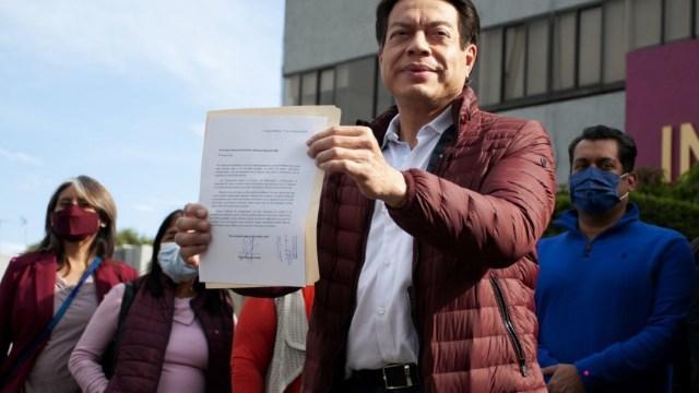 Mario Delgado pide acelerar encuesta a dirigencia de Morena
