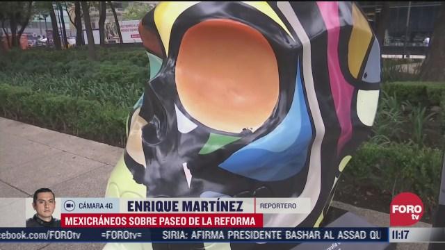 mexicraneos vuelven a reforma