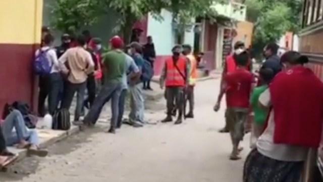Vigilan con drones la frontera sur de México para evitar ingreso de nueva caravana migrante