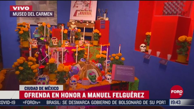 montan ofrenda monumental dedicada a manuel felguerez