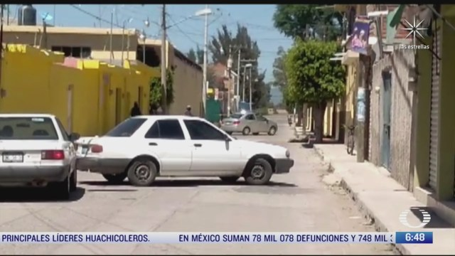 nueva jornada de violencia en guanajuato