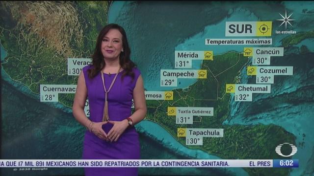 onda tropical 42 provocara lluvias en el sureste y la peninsula de yucatan