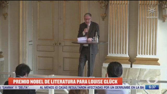 otorgan premio nobel de literatura 2020 a la poeta estadounidense louise gluck